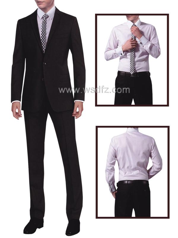 威仕顿服装定做 男士西服套装 商务西服定做厂家