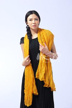 桥一芳批发品牌产品——纯棉围巾