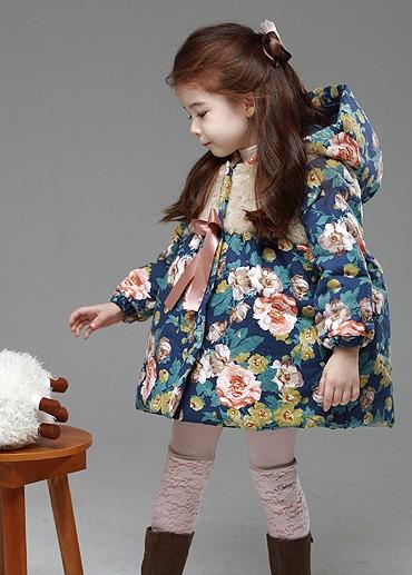 高档童装羽绒服 棉衣 眯咻兔童装货源 网店代理 一件代发