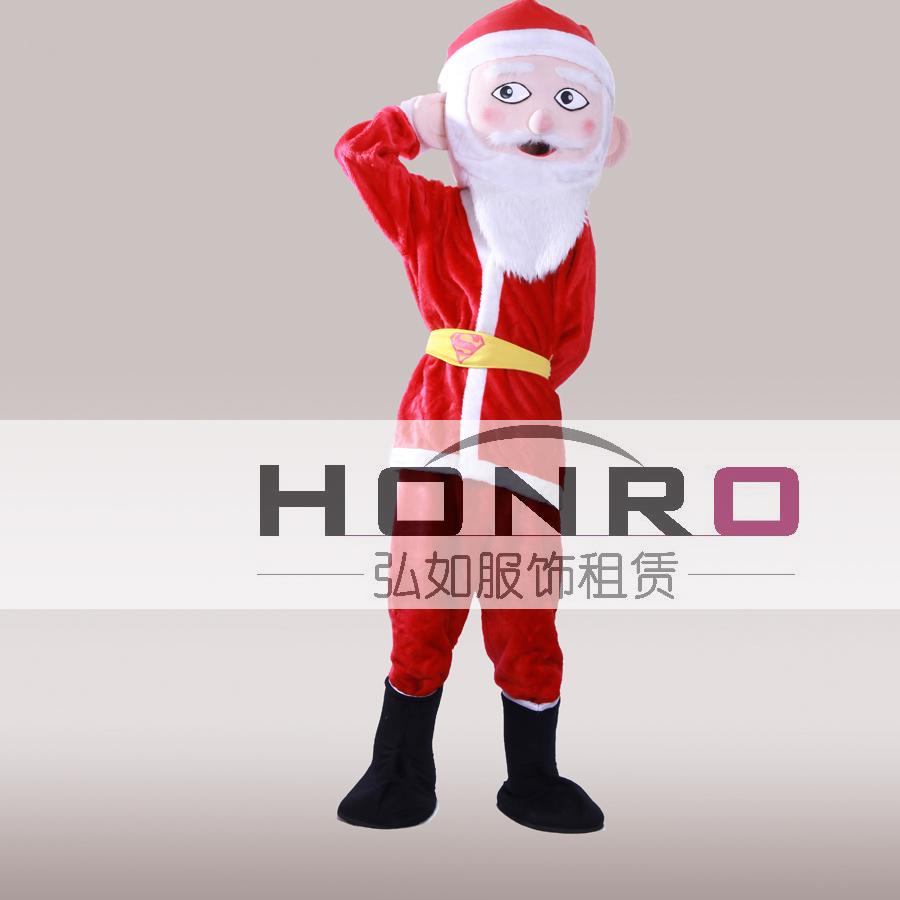 卡通服装出租,上海圣诞老人服装出租