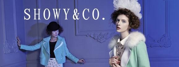 showy&co.秀亦女装2014年夏季订货会于12月初在深圳隆重举行!!
