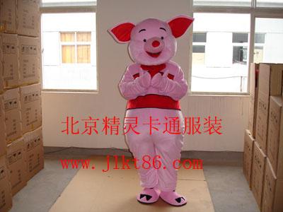 提供北京精灵卡通服装,天津卡通人偶服,粉红猪