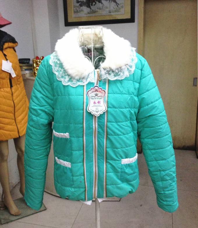 库存服装网 服装批发代理女装 男装 韩版服羽绒服只需18/件