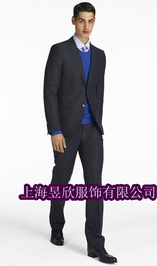 高级商务男士西装定制上海商务西装定制上海订