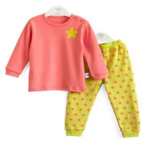 儿童内衣套装 男童女童睡衣裤 家居服装 纯棉秋款童装批发