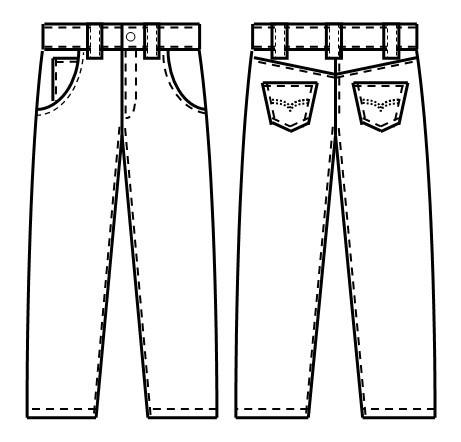 2014年外贸休闲裤牛仔裤订单外发加工,免费供料