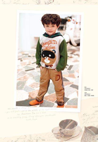 男童服装秋季颜色搭配-男童秋装颜色如何搭配好看