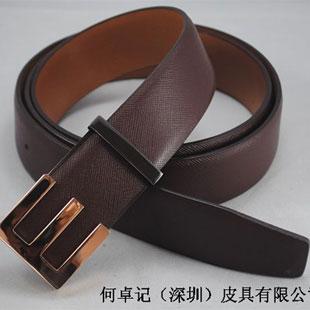 何卓记皮具公司供应各类皮带产品