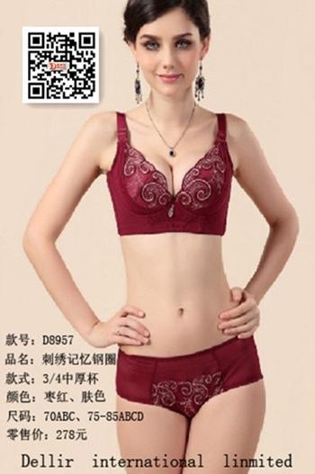一线品牌调整型内衣香港戴丽尔品牌首选