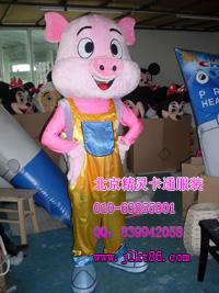 出售北京精灵卡通服装,西安卡通服饰,胖小猪