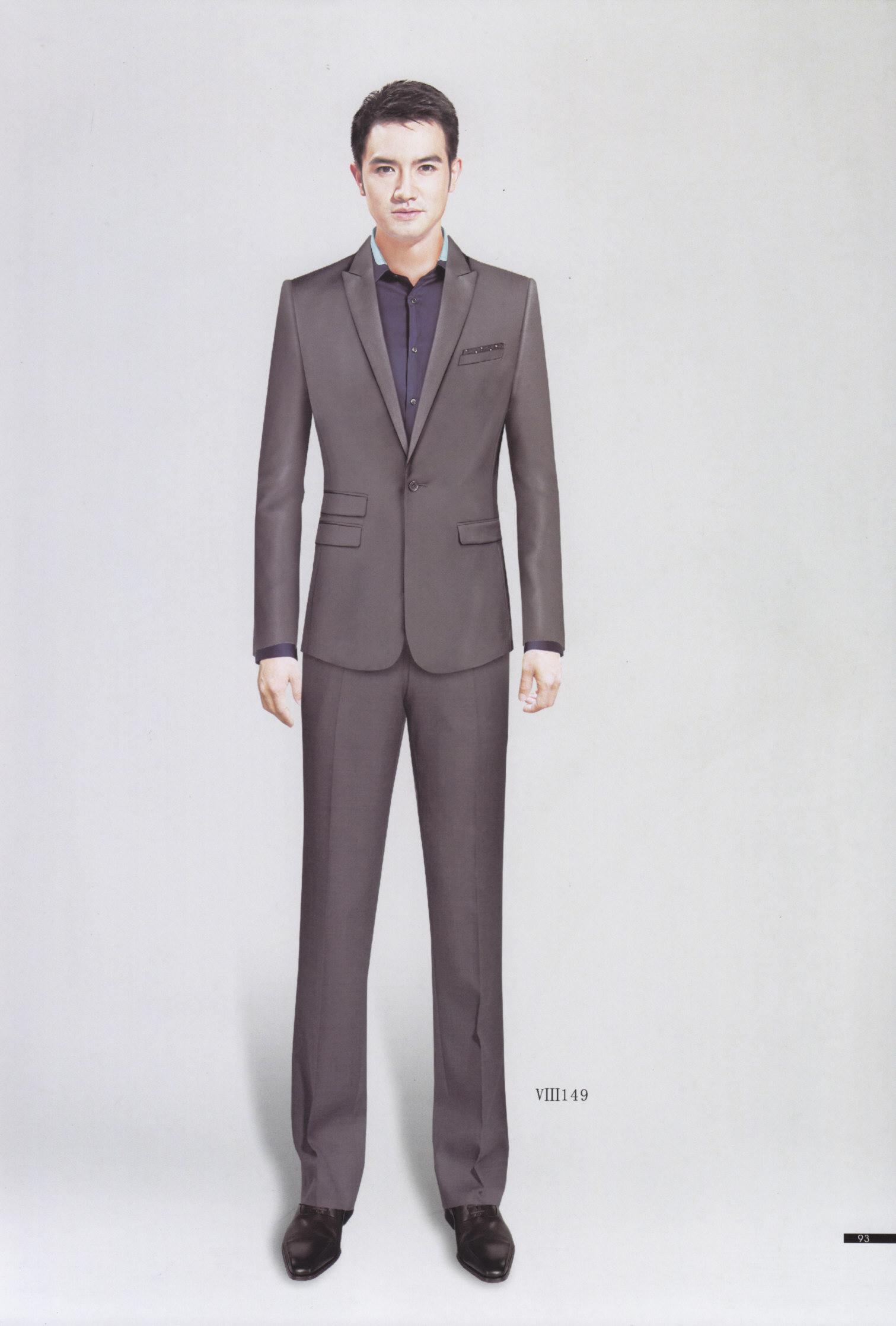 专业西服职业装工作服款式设计-专业服装生产企业-成都百姿服饰