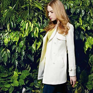简约时尚、舒适雅致是COOZIC-珂妮卡品牌风格的一贯追求-