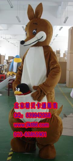 供应北京精灵卡通服装,湖南卡通人偶服饰,袋鼠人偶服