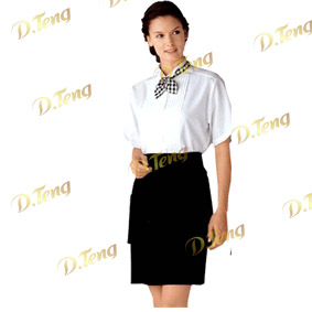 北京餐飲夏季服裝、酒吧夏季服裝、咖啡廳服裝、KTV服裝-丹騰服飾