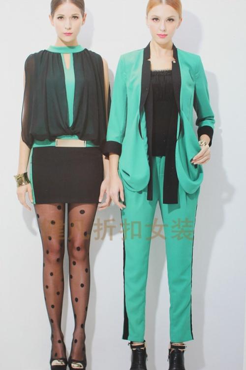 外貿原單女裝批發網 網店代理女裝 品牌女裝批發
