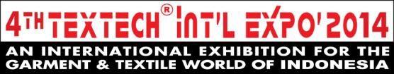 2014第4届印尼国际纺织服装工业展(TEXTECH)