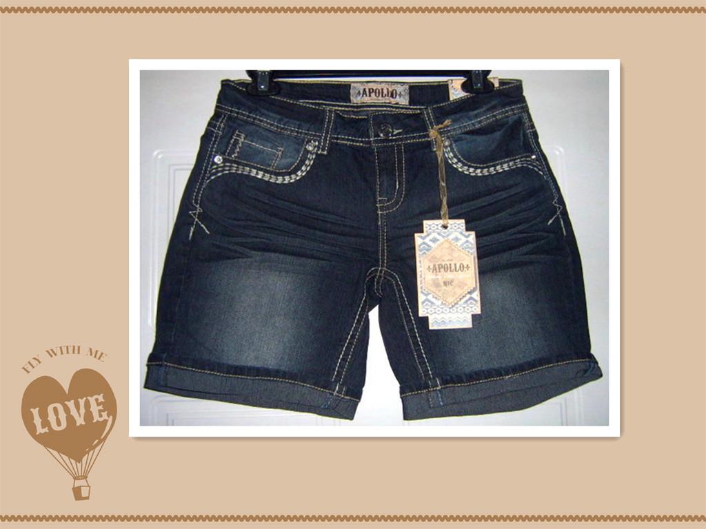 牛仔热裤,短裤和中裤低价处理中