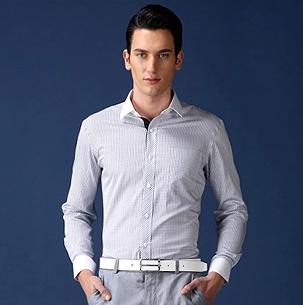 海澜之家男装长袖衬衫