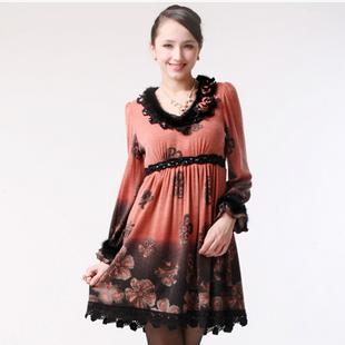梦丽莎蕾丝连衣裙