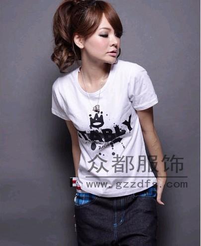 北京大紅門服裝批發市場便宜T恤清倉夏季便宜女裝T恤批發
