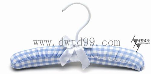 上海特美布衣架厂批发包布纤维衣架
