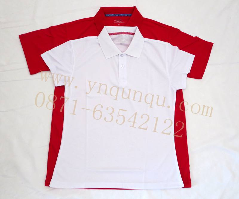 昆明T恤衫印logo为你的商业路添风光昆明广告衫量身定做昆明广告T恤衫印字