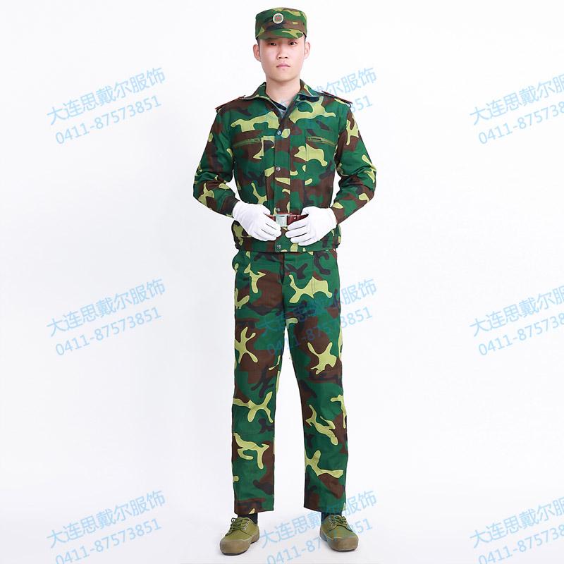 大连迷彩服大量现货供应 军训服装可免费发放 省钱省心