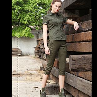 战地迷彩服,不一样的时装