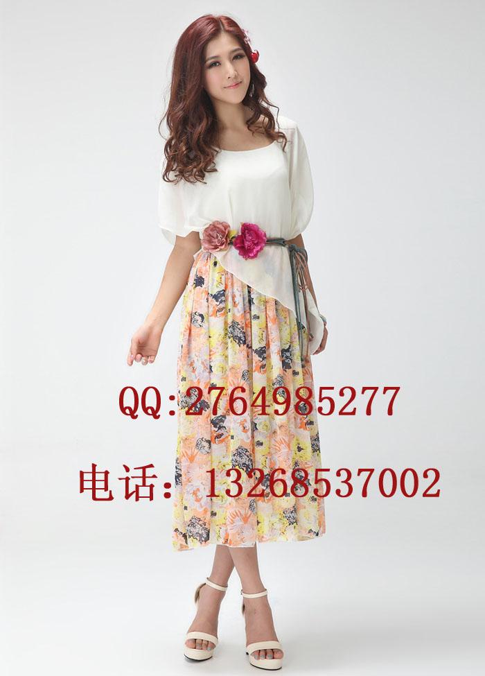 一件代发时尚女装厂家  时尚又便宜女装连衣裙、T恤批发(加工)