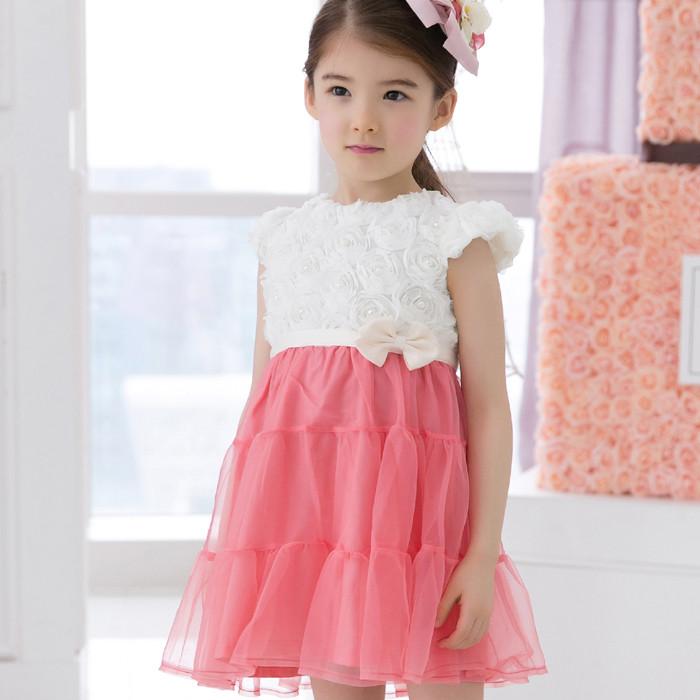 蕾佳妮外贸女童连衣裙批发夏季新款童装批发