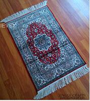 艾莞尔手工真丝别墅地毯专业生产厂家定制