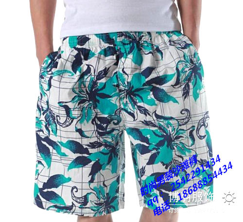 低价便宜男装沙滩裤批发