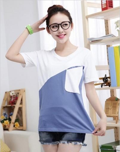 厂家批发韩版女装百搭短袖T恤13.8元批