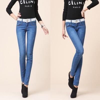 广东女装小脚牛仔裤批发去哪里批发厂家尾货几元新款牛仔裤批发