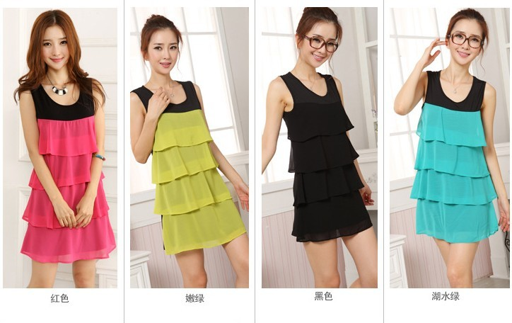 新款夏装连衣裙库存处理厂家批发裙子低至8元