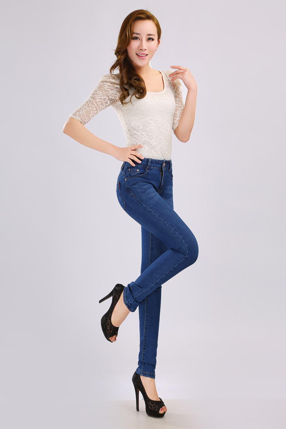 2014爆款时尚牛仔裤,厂家直销