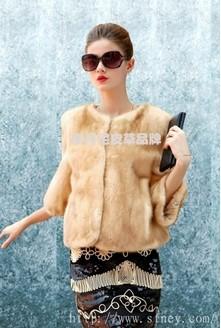 2014年新款貂皮大衣款式圖片