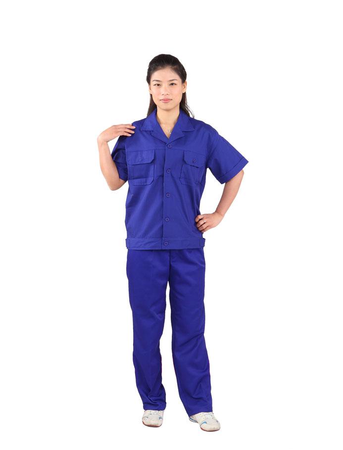 广州工作服,不同面料不同风格的工作服清洗法则
