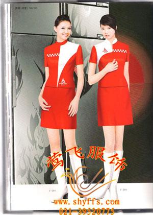 上海夏季最新款促销服|莺飞促销服设计定制批发