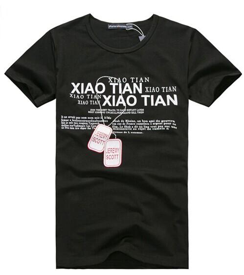 厂家直供莱卡棉男士纯色短袖t恤厂家供货最便宜跳楼价