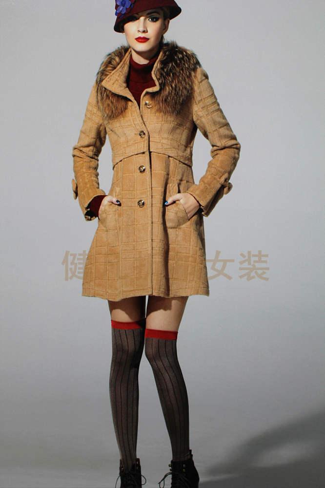 外贸原单女装 女装大衣 羽绒服