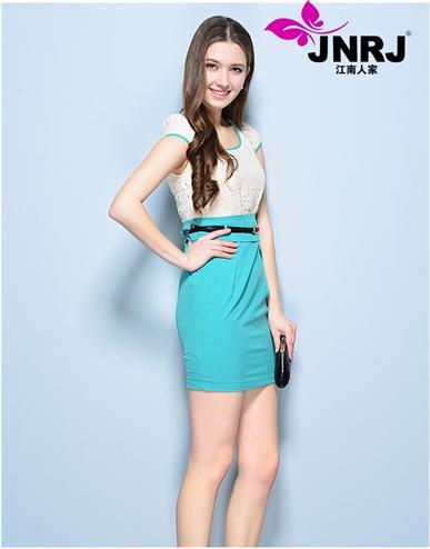 江南人家2014品牌折扣女装夏季新款您生意的好伙伴