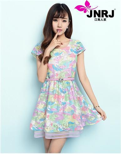 江南人家2014品牌折扣女装夏季新款您生意的好伙伴,免费加盟