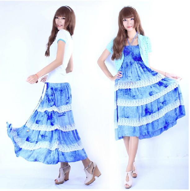十三行服装批发市场雪纺连衣裙批发时尚雪纺碎花连衣裙