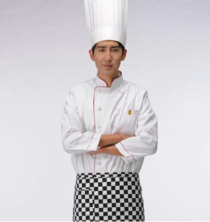 成都厨师服定做 厨师帽批发 厨师围裙定制