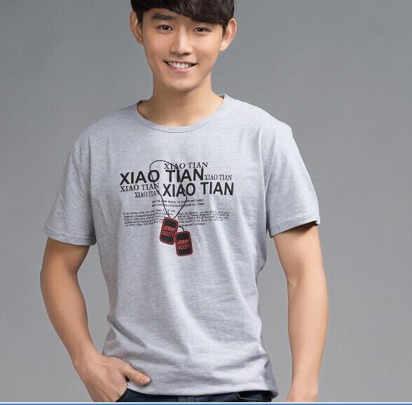 广州夏季男装短袖T恤批发男装短袖T恤批发便宜地摊货源批发