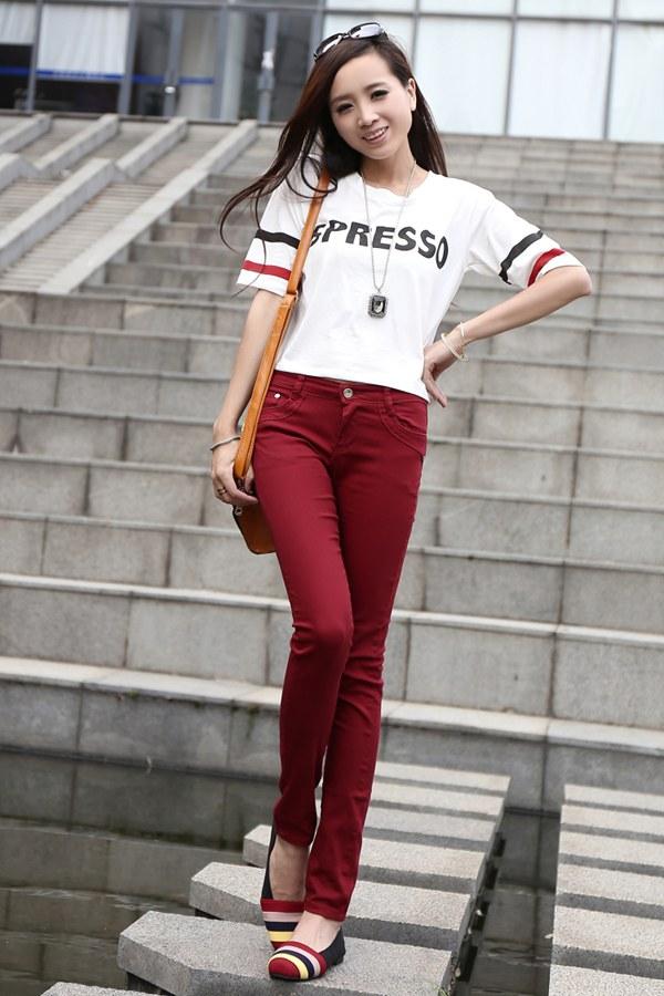 厂家直销纯棉T恤韩版T恤韩版女式T恤便宜T恤批发低价牛仔裤批发