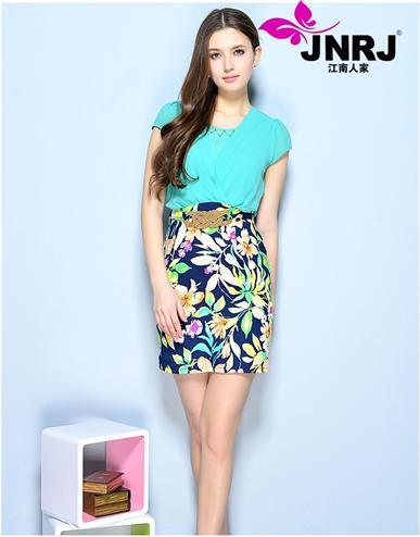 杭州江南人家品牌女装18色泽系绽放别样姿态,引领中国高级时装新风尚