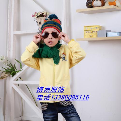 儿童长袖T恤批发便宜时尚童装卫衣外套批发沙河库存低价处理长袖打底衫批发