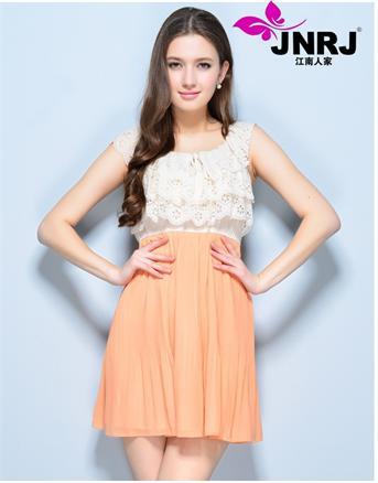 2014江南人家品牌女装通情精致范为您演绎夏季时尚,女装大放异彩